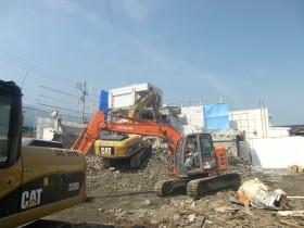 解体の施工事例
